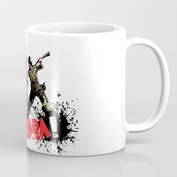 poland Mugs featuring Poland Wara! by viva la revolucion