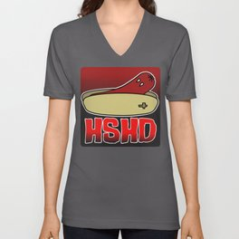 Horrorshow Hot Dog Logo - Vampire variant Unisex V-Neck