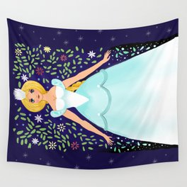 The Winter Fairy Brings The First Frost Wall Tapestry