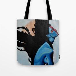 Lady Hellshock: barbaric paladin Tote Bag