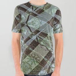 NORTH END OF MOUNTAIN LAKE All Over Graphic Tee