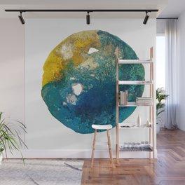 ice moon Wall Mural