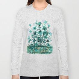 Floral Charm No.1K by Kathy Morton Stanion Long Sleeve T-shirt