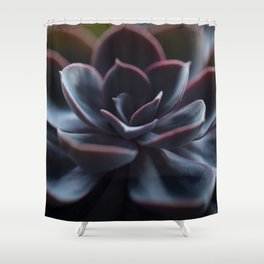 Succulent Plant In Close-up #decor #society6 #homedecor Shower Curtain