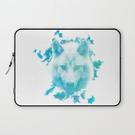 Blue Wolf Laptop Sleeve