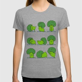 Broccoli Yoga T-shirt