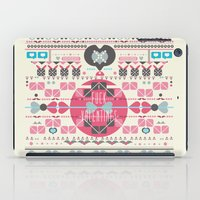 valentines iPad Cases featuring Anti Valentines - Fuck Valentines by Tracey Jane Bradley