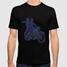 Motorbike  MEDIUM Mens Fitted Tee Black