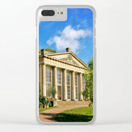 Temple Greenhouse (V2) Clear iPhone Case