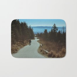Path up the Great Smoky Mountains Bath Mat