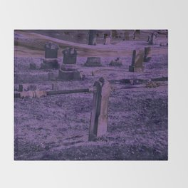 Violet Throw Blanket