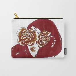 Flowers in My Eyes Carry-All Pouch