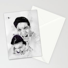 100 Days of Chaos Stationery Cards