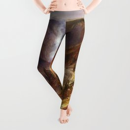 The Grand Canyon of the Yellowstone by Thomas Moran Leggings