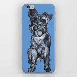 Rupert the Miniature Schnauzer iPhone Skin
