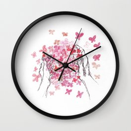 Butterfly Ball Wall Clock