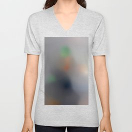 Machines of the Present Consume the Imaginations of the Past (The Son of Man, Rene Magritte) Unisex V-Neck