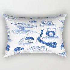 Pop Porcelain- Final Frontier Rectangular Pillow