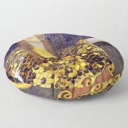 "Gustav Klimt ""Pallas Athene"" Floor Pillow"