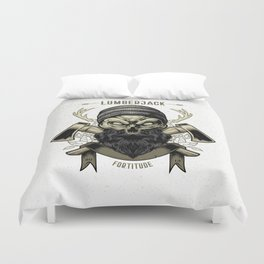 Fortitude (Lumberjack) Duvet Cover