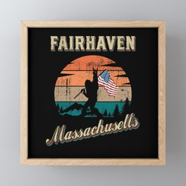 Fairhaven Massachusetts Framed Mini Art Print