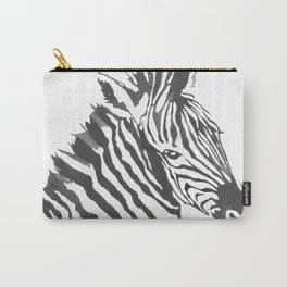 Zebra Code Carry-All Pouch