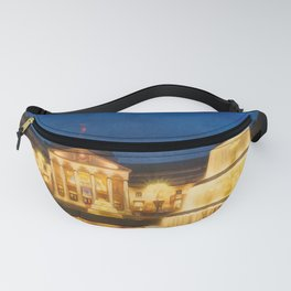 Night At The Kurhaus Wiesbaden | Painting Fanny Pack
