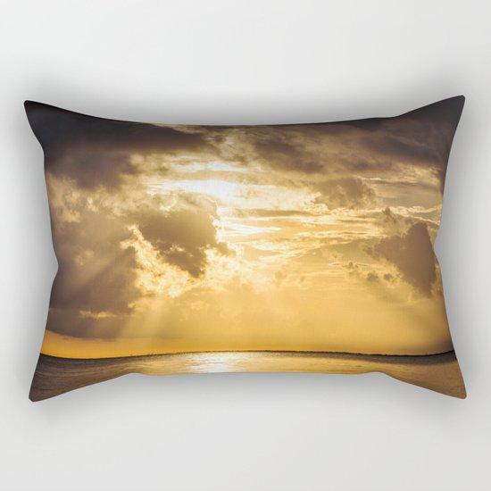 Thoughts of You Rectangular Pillow
