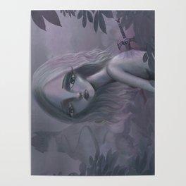 Pastel Sadness Poster