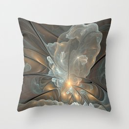I had a dream, Abstract Fractal Art Throw Pillow