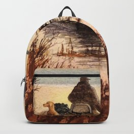 A Great Day For Hunting Ducks Backpack