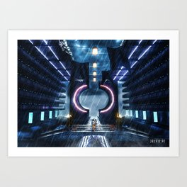 Poster - Temple Art Print