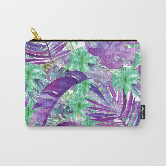 purple jungle Carry-All Pouch