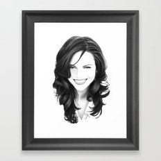 lana I Framed Art Print