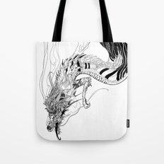 Falling dragon Tote Bag