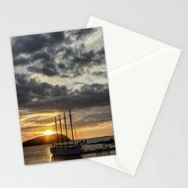 Sunrise Bar Harbor Maine Stationery Cards