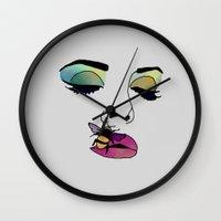 lana Wall Clocks featuring LANA  by Vita♥G