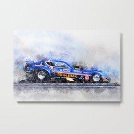 Raymond Beadle, Blue Max Metal Print
