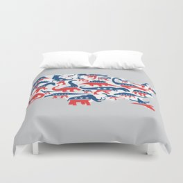 Battleground Duvet Cover