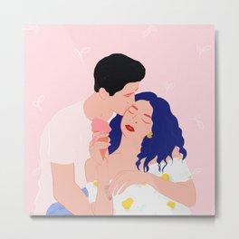 Couples in love Metal Print