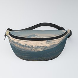 Mountain Valley Pacific Northwest - Nature Photography Fanny Pack