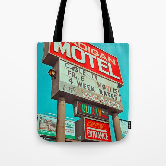 Retro signage Tote Bag