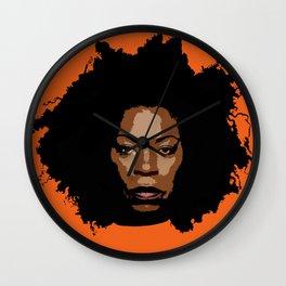 Queen Vee Wall Clock