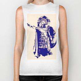 Greek hoplite warrior Biker Tank