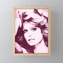 Farrah Fawcett - Classic - Pop Art Framed Mini Art Print