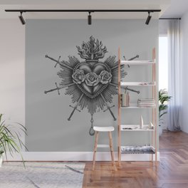 Immaculate Heart Wall Mural