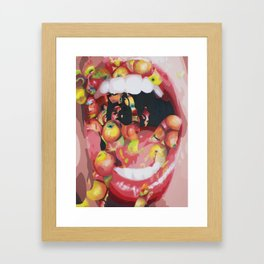 The Taste Framed Art Print