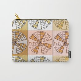 Macrame Circles Carry-All Pouch