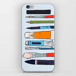 Weapons of choice iPhone Skin