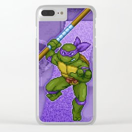 Donatello Does Machines Clear iPhone Case